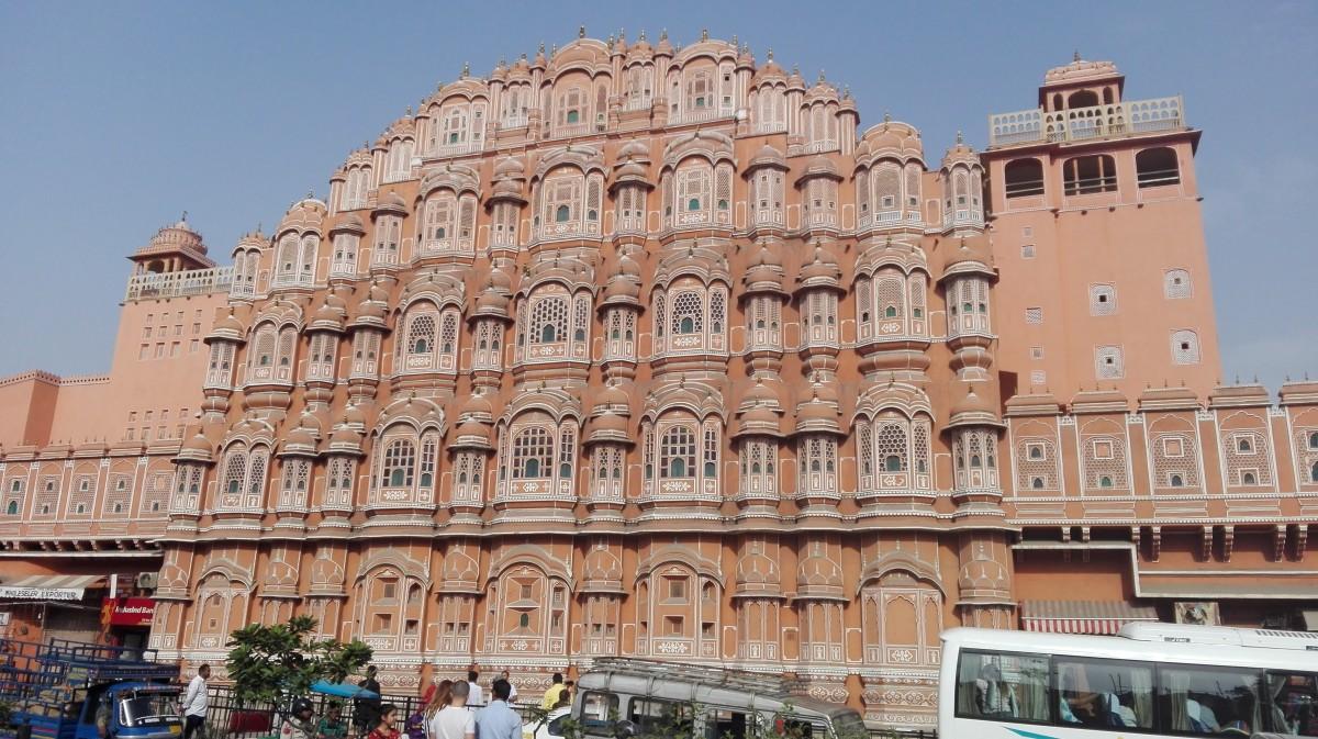 Zdjęcia: Jaipur, Północno-zachodnie Indie, Pałac wiatrów II, INDIE