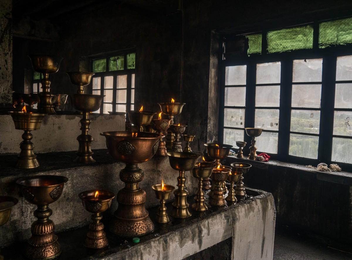 Zdjęcia: Shey, Ladakh, koszmar strażaka, INDIE