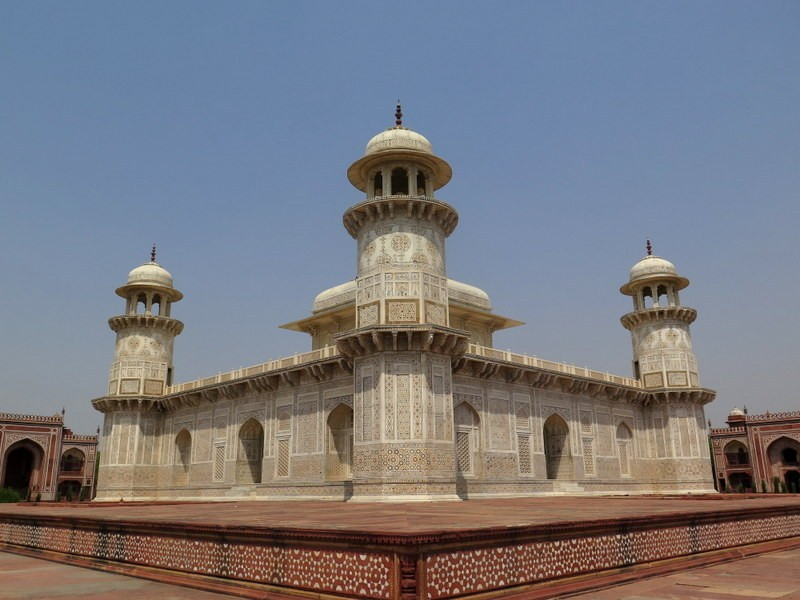 Zdjęcia: AGRA, Uttar Pradesh, Mauzoleum I'timad-ud-Daulah (1), INDIE