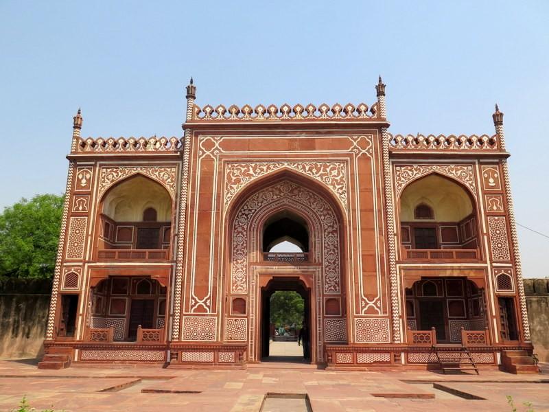 Zdjęcia: AGRA, Uttar Pradesh, Mauzoleum I'timad-ud-Daulah (5), INDIE