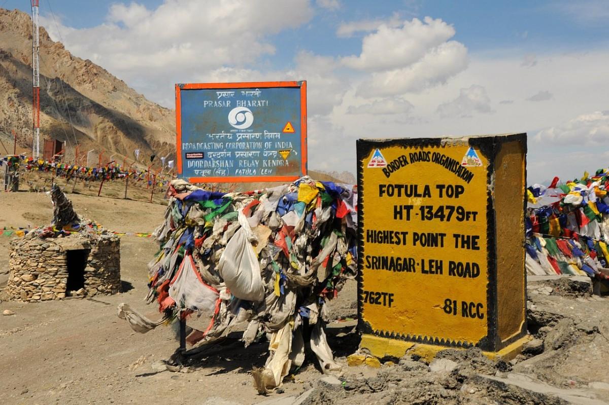Zdjęcia: Droga Srinagar - Leh, Himalaje, Fotula Top, INDIE