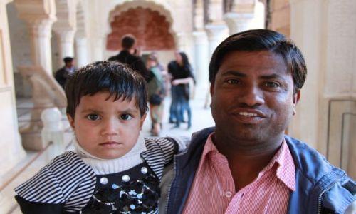 Zdjęcie INDIE / Rajasthan/Jaipur / Fort Amber / .
