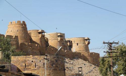 Zdjęcie INDIE / Rajasthan / Jaisalmer / Złoty fort