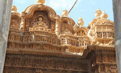Zdjecie INDIE / Rajasthan / Jaisalmer / Kupieckie Havele
