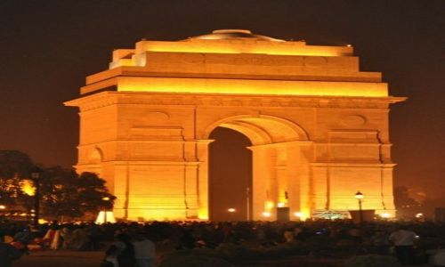 Zdjęcie INDIE / New Delhi / Brama Indii / India Gate