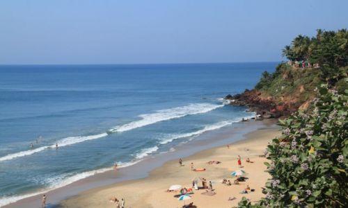 Zdjecie INDIE / Kerala / Verkala / Widok z klifu