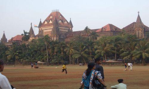 Zdjecie INDIE / bombaj / colaba / brytyjska architektura w tropikalnej oprawie