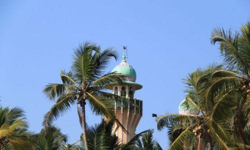 INDIE / Kerala / Verkala / taki minarecik