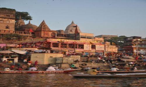 Zdjecie INDIE / Indie / Varanasi / poranek nad gangesem