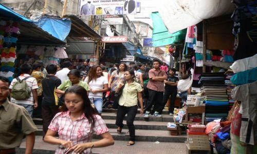 INDIE / Mizoram / Aizawl / Scena uliczna