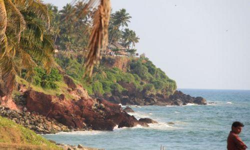 Zdjecie INDIE / Kerala / Verkala / Klif