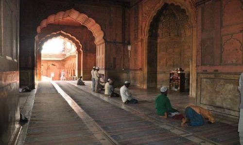 Zdjecie INDIE / New Delhi / New Delhi / Meczet