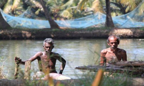 Zdjęcie INDIE / Kerala / Kumarakum / hodowla krewetek