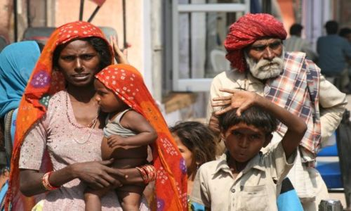 Zdjęcie INDIE / Rajastan / Jaipur / Rodzina