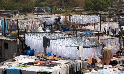 Zdjęcie INDIE / - / Bombaj / Pralnia 2