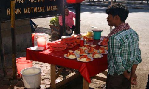 Zdjęcie INDIE / Maharasztra / Bombaj / uliczne przekąski-ameba  gratis