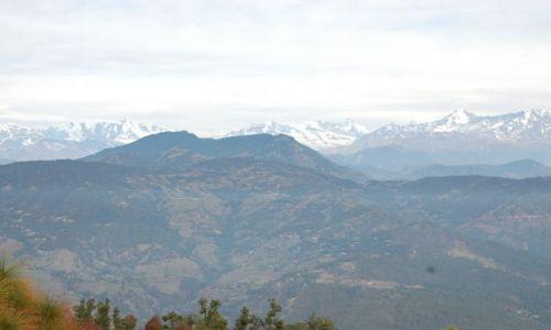 INDIE / Himalaje / Kausani / Pasmo Nanda Devi