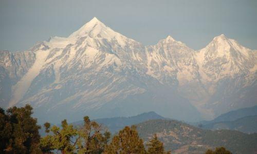 INDIE / Himalaje / Kausani / Nanda Devi2