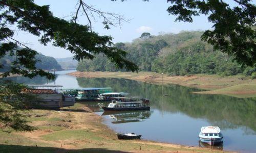 INDIE / Kerala / Periyar / Park narodowy Periyar