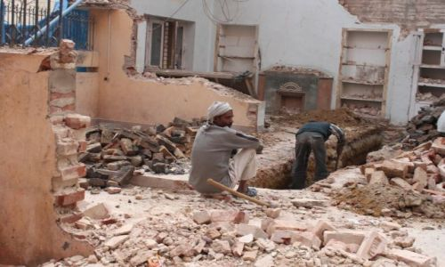 INDIE / New Delhi / Delhi / na budowie