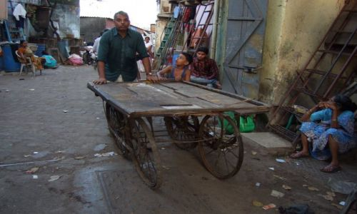 Zdjęcie INDIE / Macharasztra / Bombaj / Slamsy