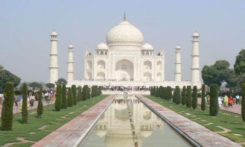 Zdjęcie INDIE / Uttar Pradesh / Agra / Taj Mahal