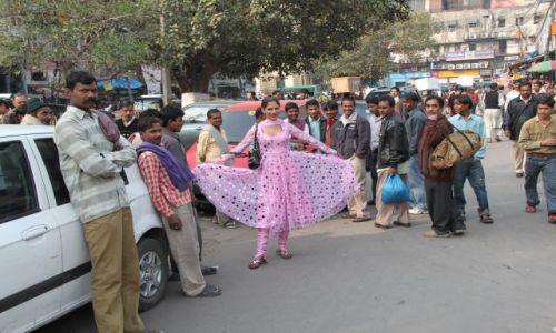 Zdjęcie INDIE / Delhi / Old Delhi / eunuch