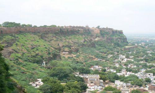 INDIE / Uttar Pradesh / Gwalior / Gwalior - miasto i fort