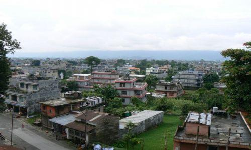 INDIE / Uttar Pradesh / Gwalior / Typowe indyjskie miasto