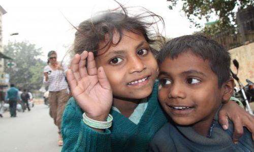 Zdjęcie INDIE / Delhi / Old Delhi / dzieci