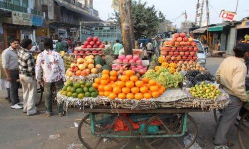 Zdjęcie INDIE / Delhi / Old Delhi / stragan