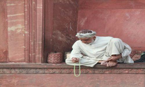 Zdjecie INDIE / Delhi / Old Delhi / meczet