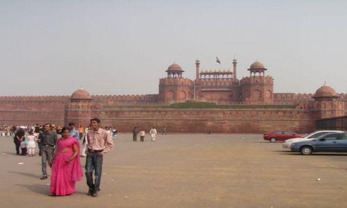 Zdjecie INDIE / Delhi / Old Delhi / fort