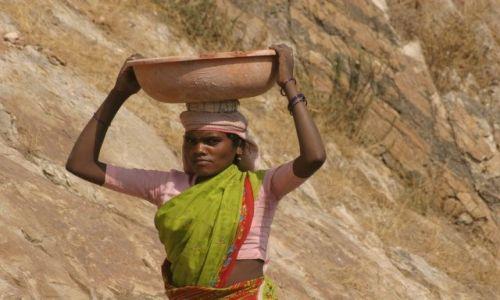 Zdjęcie INDIE / Rajasthan / Jaipur /  W pracy