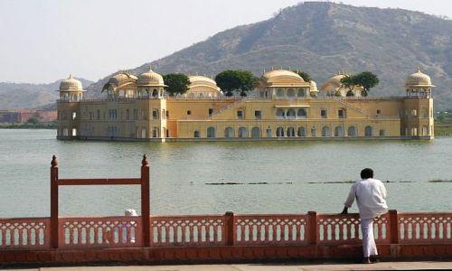 Zdjęcie INDIE / Jaipur / Pałac na wodzie - Jal Mahal / Kiedyś to będzie moje