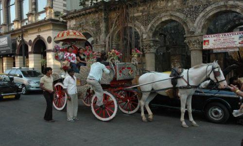 Zdjecie INDIE / Mombay / stara dzielnica kolonialna / Dla pary mlodej