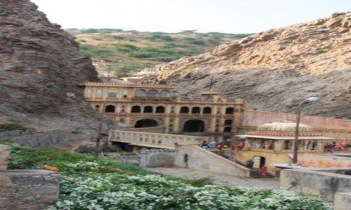 INDIE / Rajasthan / Jaipur / Ashram w jaipur