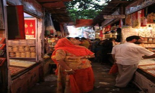 INDIE / Rajasthan / Jaipur / Bazar dla kobiet - czesc Johri Bazar