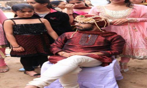 INDIE / Rajasthan / Jaipur / ceremonia dla Pana Mlodego