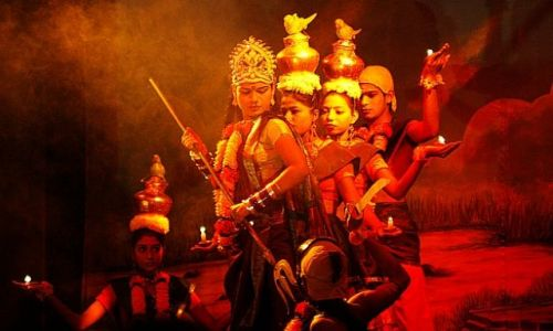 Zdjęcie INDIE / Madhya Pradesh / Khajuraho / tańce