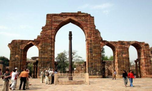 Zdjecie INDIE / brak / Delhi - Qtub Minar / To trzeba zobaczyć ...