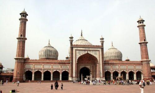Zdjecie INDIE / brak / Old Delhi  - Meczet Piątkowy (Jama Masjid) / To trzeba zobaczyć ...