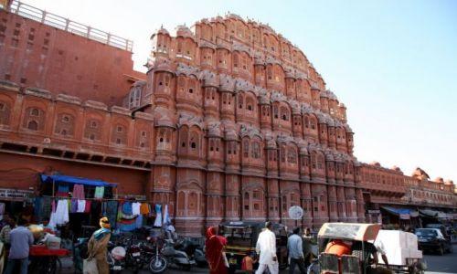 Zdjęcie INDIE / brak / Jajpur - Pałac wiatrów / To trzeba zobaczyć ...