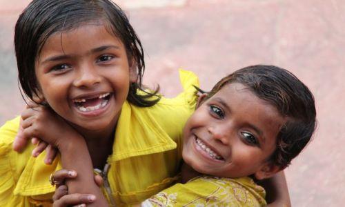 Zdjecie INDIE / Uttar Pradesh /  Fatehpur Sikri / Dzieci