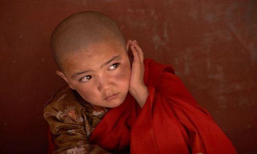 Zdjecie INDIE / Ladakh / Spituk / Mały lama