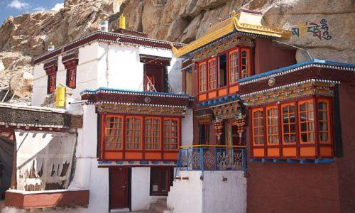 Zdjęcie INDIE / Ladakh / Tak Thog / gompa