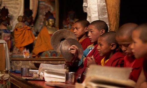 Zdjecie INDIE / Ladakh / Lamayur / Puja