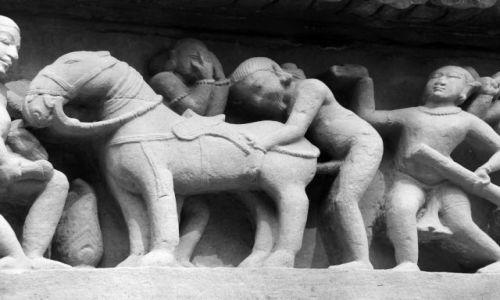 Zdjęcie INDIE / Madthya Pradesh / Khajuraho / Świątynie