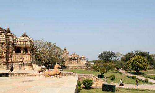 Zdjęcie INDIE / Madhya Pradesh / Khajuraho / Świątynie