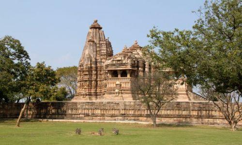 Zdjęcie INDIE / Madhya Pradesh / Khajuraho / Świątynia